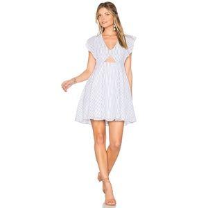 NWT Cleobella Nieve Dress Blue White Stripe, S